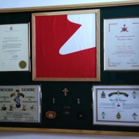 Large Shadow Box for retirement