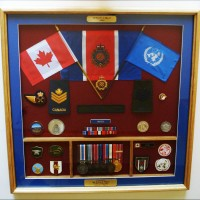 Logistic retirement shadow box