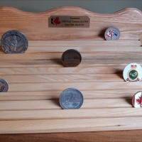 Challenge Coin display 100