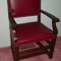 (3) Berkey Gay Chair front  After