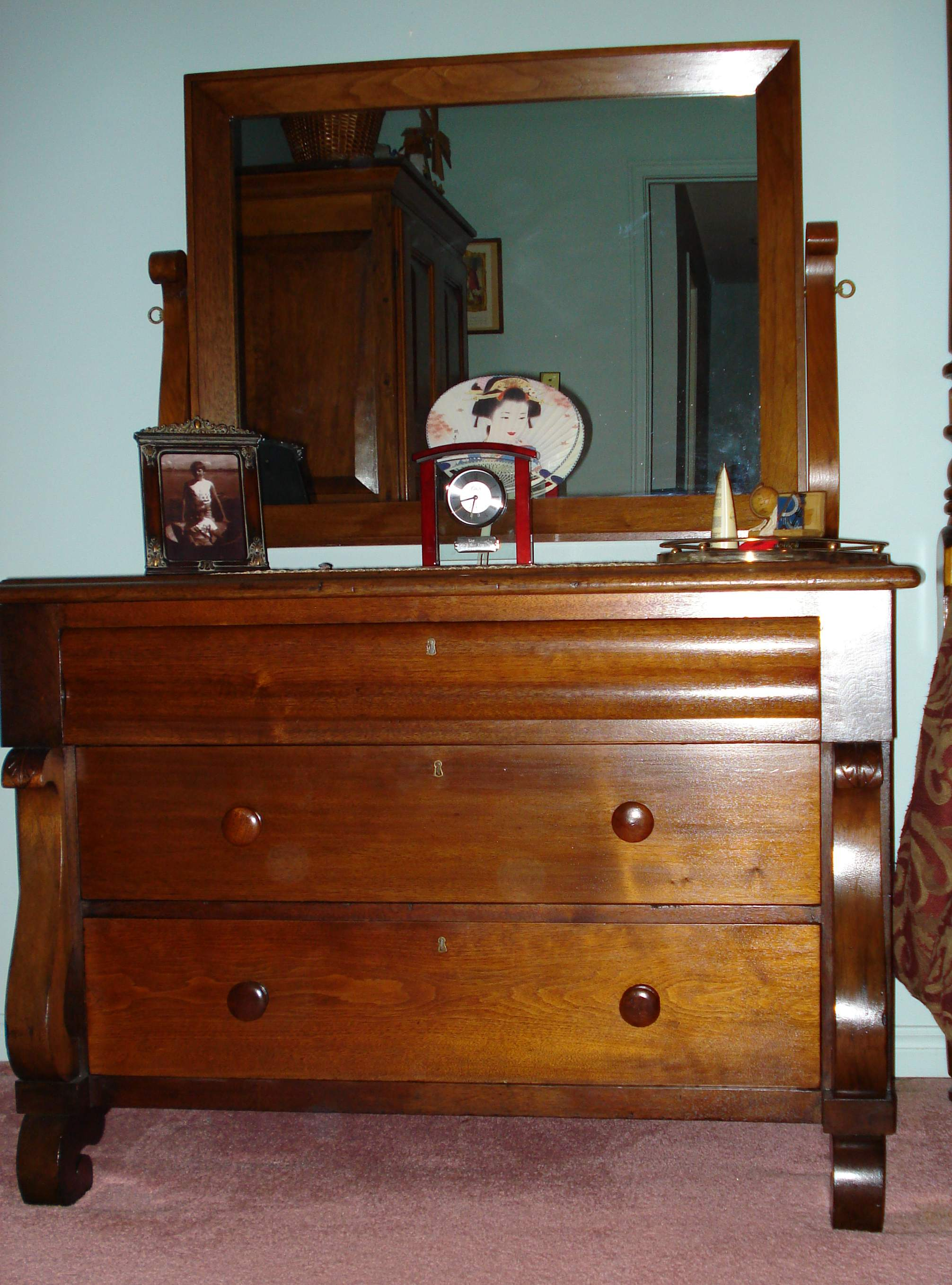 Empire Style Dresser Red Jpg 475172 Bytes Littlework Services Page
